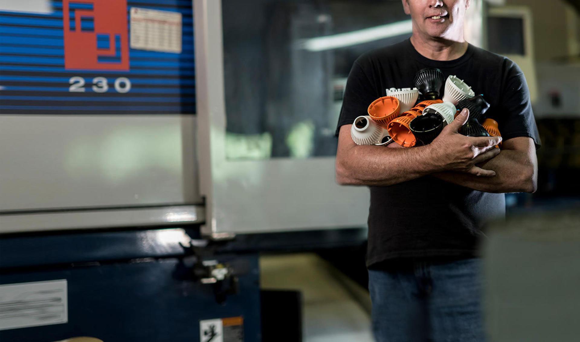 Bannière supérieure Histoire de clients Des inserts à refroidissement conformes imprimés en 3D mis au point chez Bastech