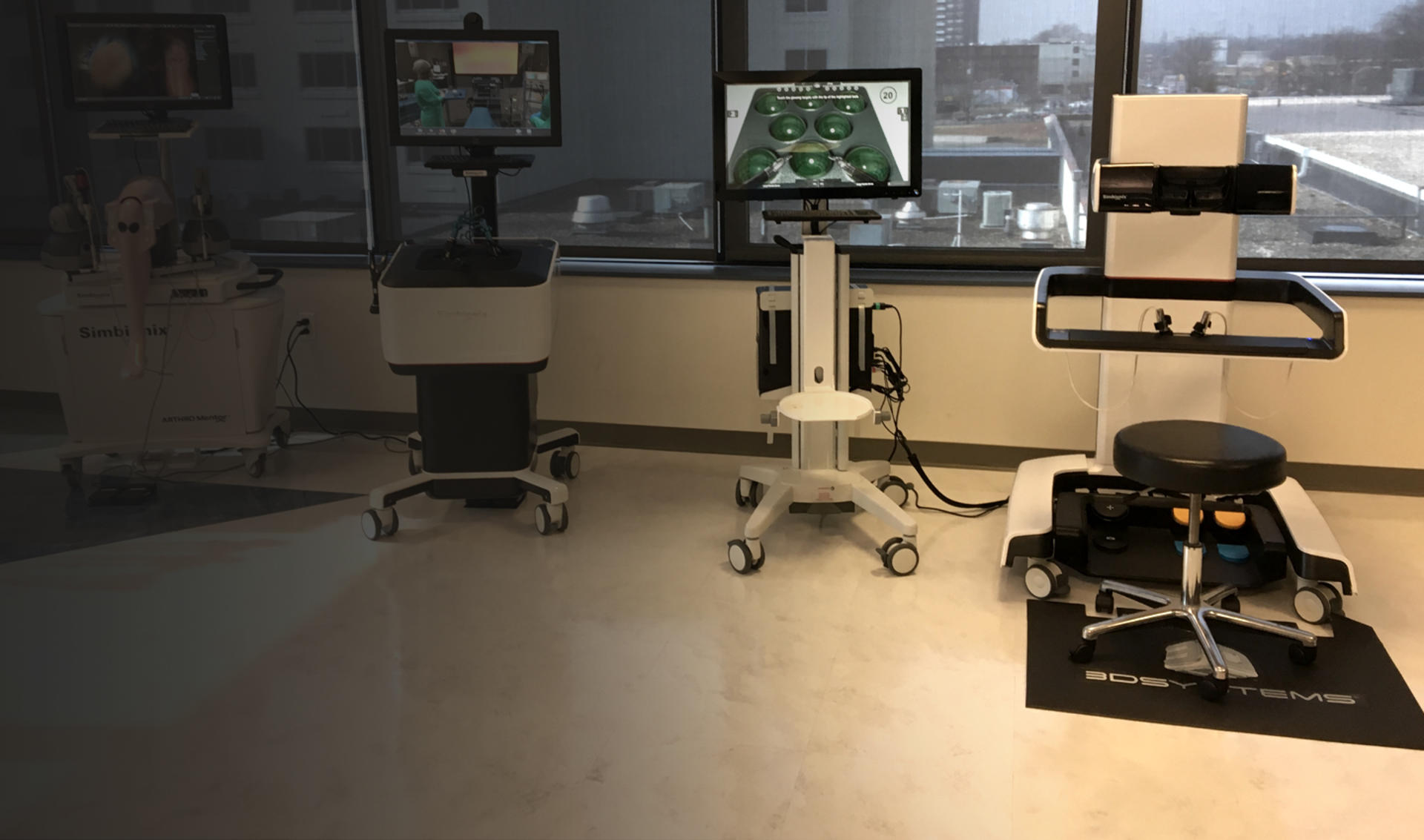 The Philadelphia College of Osteopathic Medicine supports all levels of training with Simbionix simulators.