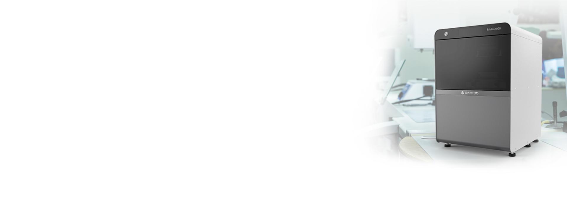 FabPro 1000 for Dental Applications Industry Banner