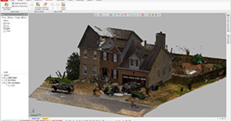 Expertly handles massive mesh and point cloud data alignment, processing and refining, mesh construction