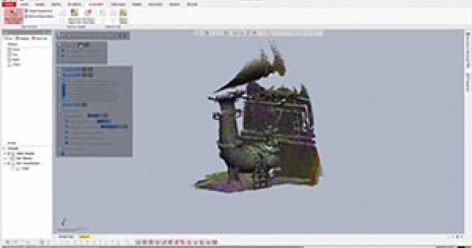 Geomagic Design X 2016 - Creating CAD Models with the FARO Scanner Freestyle3D