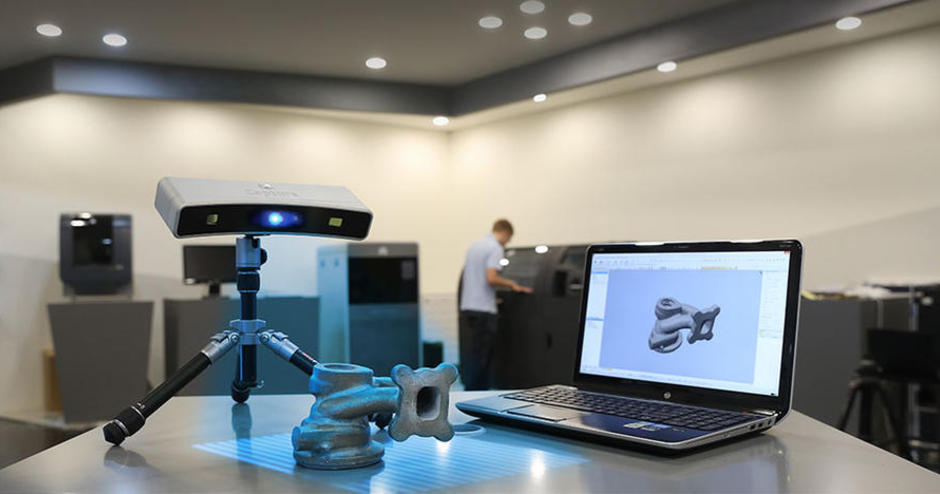 3D Systems Capture scanners with Geomagic scan software