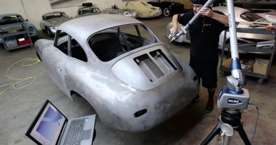 3D Scanning and Geomagic Design X Aid Emory Motorsports' Porsche Renovation