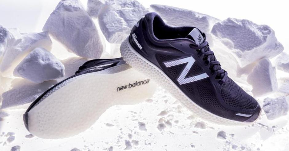 New Balance Hits its Stride in Tech with 3D Printed Midsoles