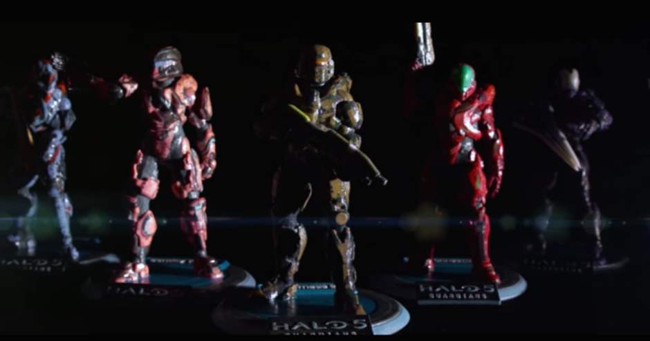 Full Color 3D Printing Takes Halo 5 Off-Screen