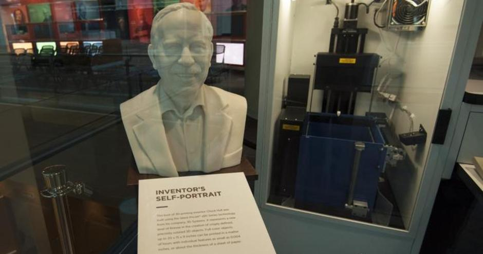 SLA-1 in the National Inventors Hall of Fame Museum