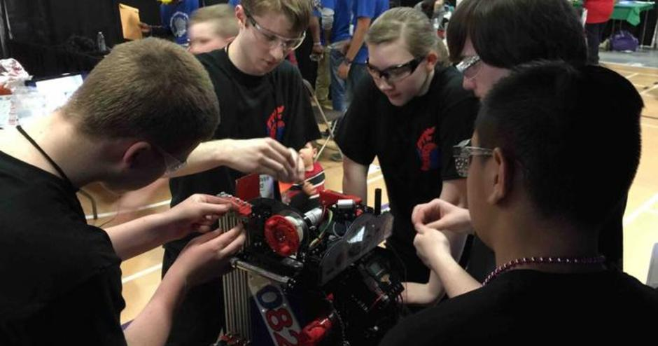 RoboSpartans Go Global with Peer Learning