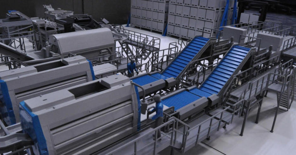Scaled Warehouse Prototype Using 3D Printing