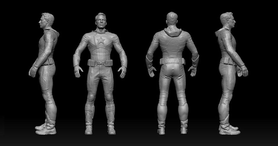 Accurate 3D body scans for use in entertainment and toy design and manufacturing tn