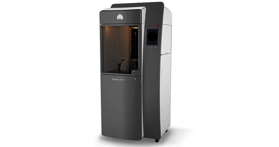 3D Systems ProJet 6000 HD 3D Printer (SLA)