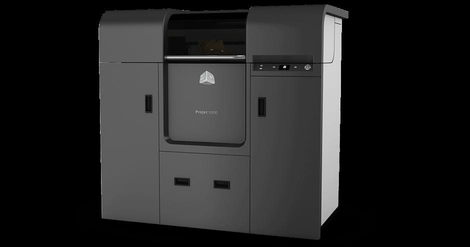 3D Systems ProJet 5000 3D Printer tn