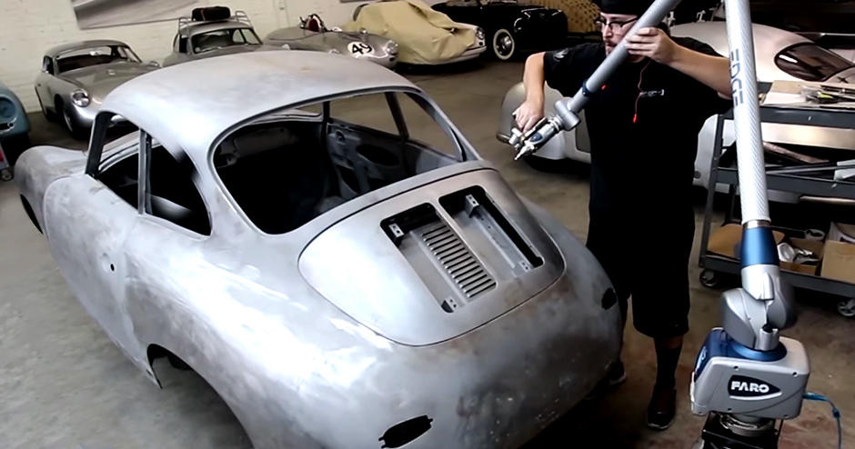 Customer Story Restoring the Beauty to a Vintage Porsche With Geomagic and 3D Systems' Quickparts On Demand Manufacturing tn