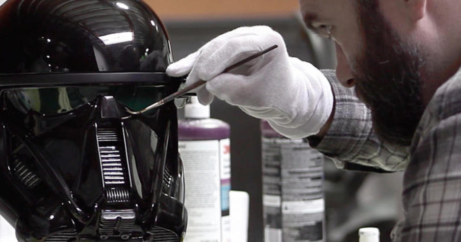 Gentle Giant Studios Delivers Death Trooper Replica Helmets
