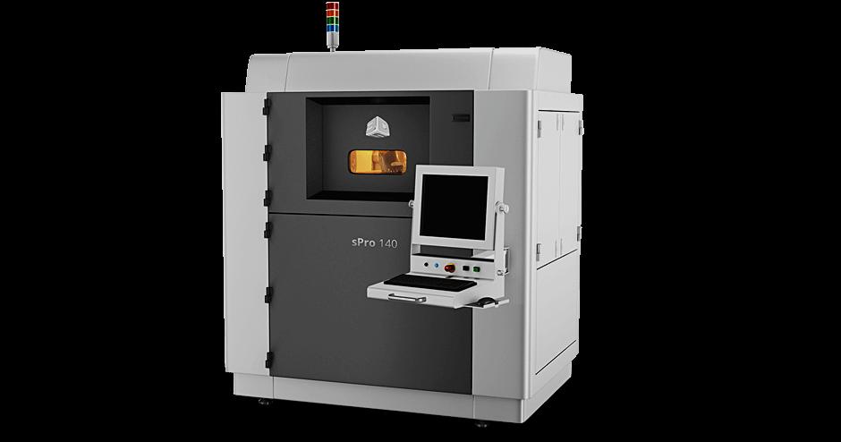 3D Systems sPro 140 3D Printer (SLS)