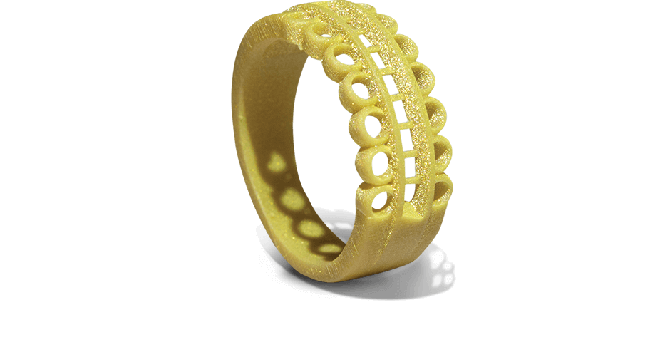 3D Systems VisiJet FTX Gold Ring