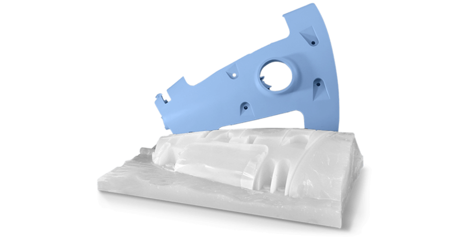 3d systems Quickparts Cast Urethane part tn