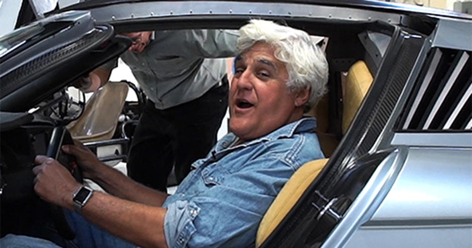 Jay leno uses end-to-end 3D solutions to achieve the impossible in custom car renovation