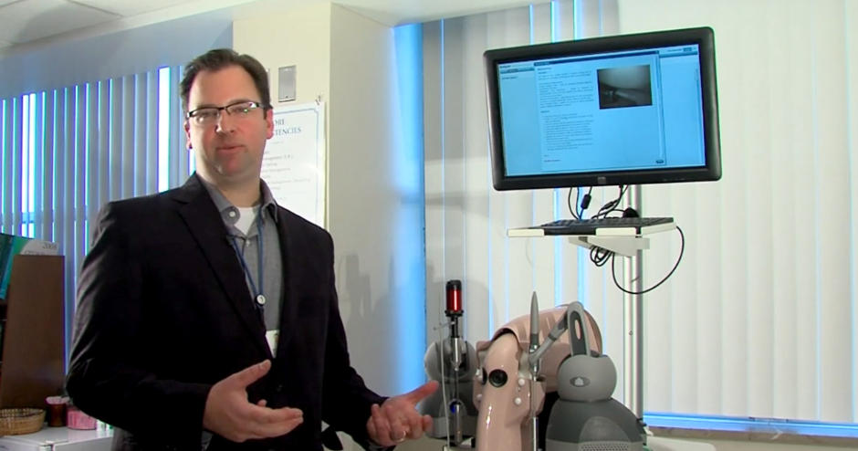 Dr. Matthew Sardelli uses the ARTHRO Mentor to Prepare Residents
