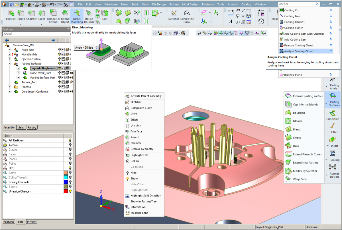 Cimatron™ 13 features a new user interface that is faster to use and easier to customize