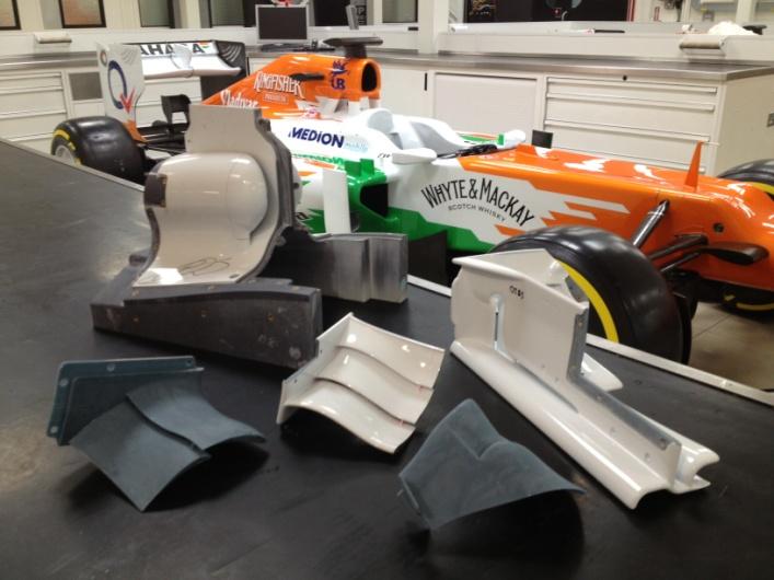 Fórmula 1 impresión 3D